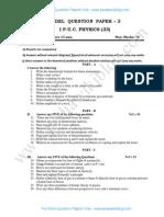 1st PU Physics Model QP 3.pdf