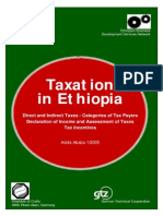 Taxation in Ethiopia