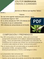 Intoxicación Por Marihuana y Otros