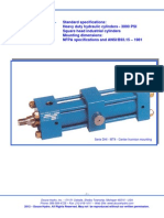 Hydraulic Cylinder Specification