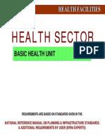 Basic Health Unit
