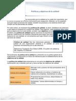 PC M2AA1L3 Politicas Objetivos