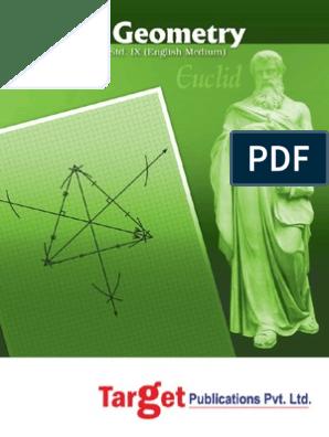 Geometry Std 9 Maharashtra Ssc | Line (Geometry) | Angle