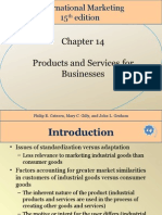 Chapter 14 Products and Services for Business
