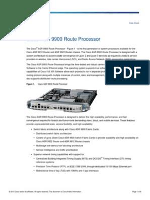 Cisco ASR 9900 Route Processor   Multiprotocol Label