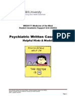 2014 PSYCH Case Report