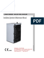 Centrala Termica Pe Lemn Si Carbune Rima Lmax Manual Tehnic Lb Engleza