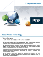 Krome Technology - Corporate Profile