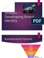 Scorpio – Developing Brand Identity