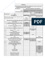 Form 16 Format for FY 2014-15 Kpk