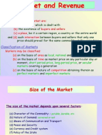 (8) Market and Revenue
