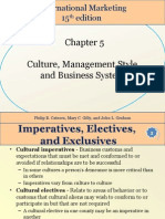 Chapter 05 Culture, Management Style, and Business System