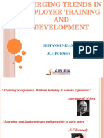 Training & Development (Emerging Trends)