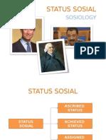 Status, Peran Dan Kelas Sosial(1)
