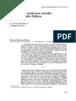 01- BALLESTEROS & SENDRA - Evolucion y Tendencias Actuales en Geografia Politica