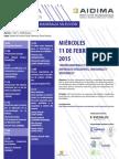 Jornadas Tecnicas MADERALIA 2015