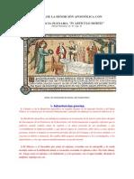 RITUAL de LA BENDICIÓN APOSTÓLICA CON Indulgencia Plenaria PDF Sin Introducción Explicatoria (1)