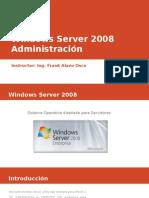 Windows Server 2008 – Administración