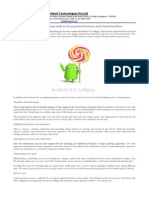 Android 5.0 Lollipop With Its Exceptional Features and Functionalities