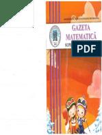 Gazeta Matematica Supliment Ian 2015