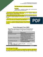 u.t. 4 Gestion de Estructuras de Almacenamiento (Manual Oracle)