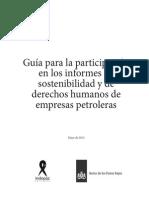 Guia DDHH y RSE Petroleras Indepaz 2013