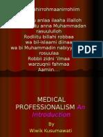 Medical Professionalism Blok 1 '09