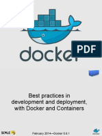 Docker and Containers for Development and Deployment Scale12x