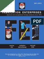 1. Fabrication Enterprises Catalog 2012