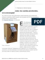 Tiempos Preelectorales_ Las Cuentas Provinciales, En La Encrucijada - 08.02.2015 - Lanacion