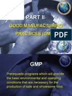 Good manufacturing Practices.