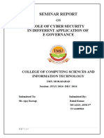 ROLE of Cyber Security