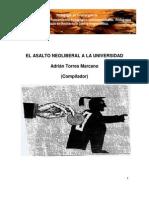 Asalto Neoliberal a La Universidad 2014