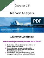 Chapter Markov Analysis