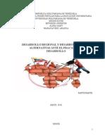 Desarrollo Regional y Desarrollo Local