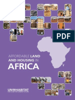 UN-HABITAT - Affordable Land and Housing in Africa (2012)