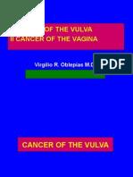 Cancer of the Vulva & Vagina1