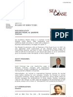 Seabase Operations FZC - About Us - Board