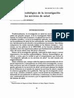 Enfoque Metodológico de La Investigación