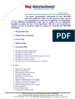 Documentation Requirements - ISO 9001-2008 - QMS - Sterling UAE.pdf