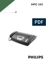 Usermanual HFC 242 Engl