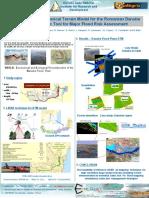 High Resolution Numerical Terrain Model for the Romanian Danube Plain as a Basic Tool for Major Flood Risk Assessment