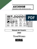 Korg - AX3000B