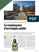 La renaissance d'un temple oublié