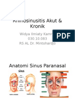 Rhino Sinusitis WiK