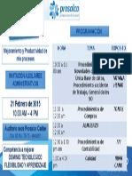 Capacitacion Auxilaires Administrativas 2015