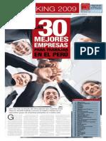 30 Mejores Empresas Para Trabajar en El Peru
