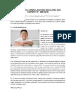 Hipertensión Arterial en Niños Escolares Con Sobrepeso y Obesidad