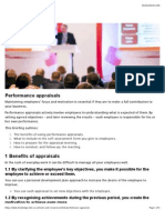 HSBC Performance Appraisals