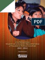2011 Politicas Adultos Lima Metropolitana 2001-2010